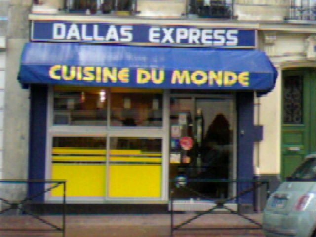 Dallas Express - Devanture