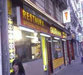Galatasaray - Porte de Clignacourt - Devanture