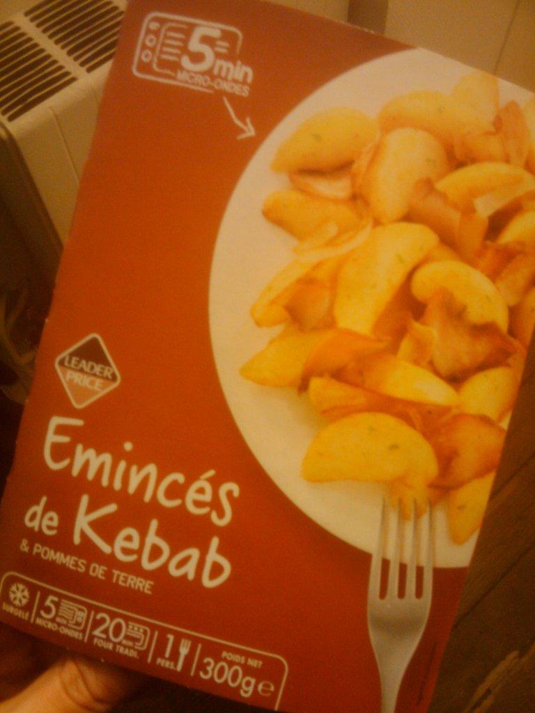 Leader Price - Eminces de kebab - boite