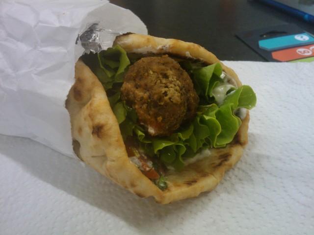 Les Iles Grecques - Sandwich Pita