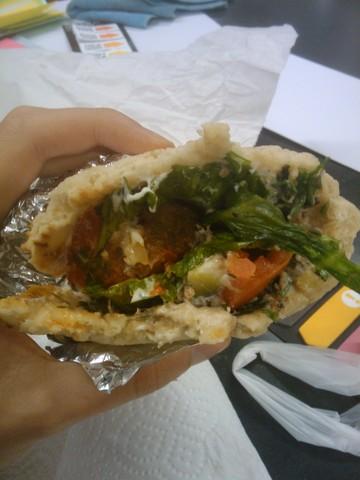 Les Iles Grecques - Sandwich Pita 2