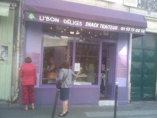 Libon Delice - Devanture