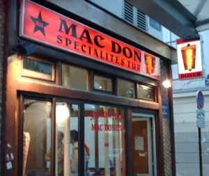 Mac Doner devanture