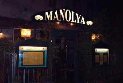 La devanture du Manolya