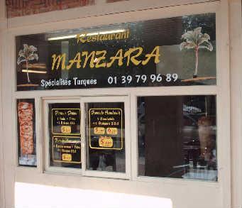 Manzara : devanture