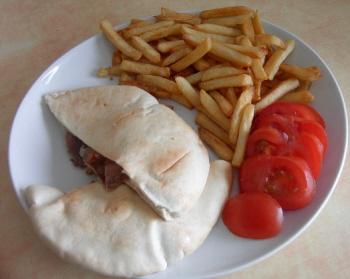 dressage du kebab au micro-onde