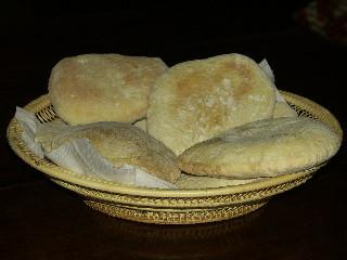 Photo de pains pita !