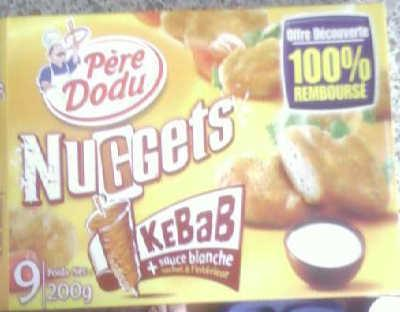 Emballage des nuggets Pere Dodu