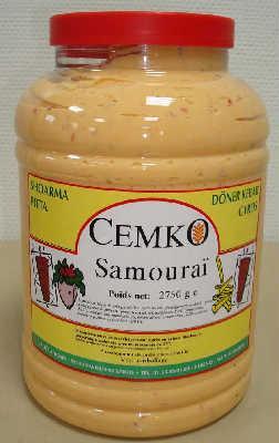La sauce samourai en pot de 3Kg svp !