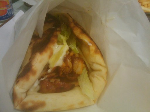Tasty Fried Chicken - Kebab Cheese Naan